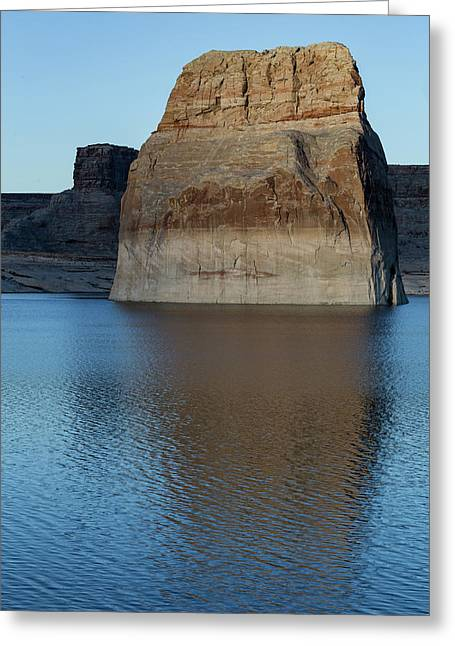 Lake Powell Monolith Greeting Card