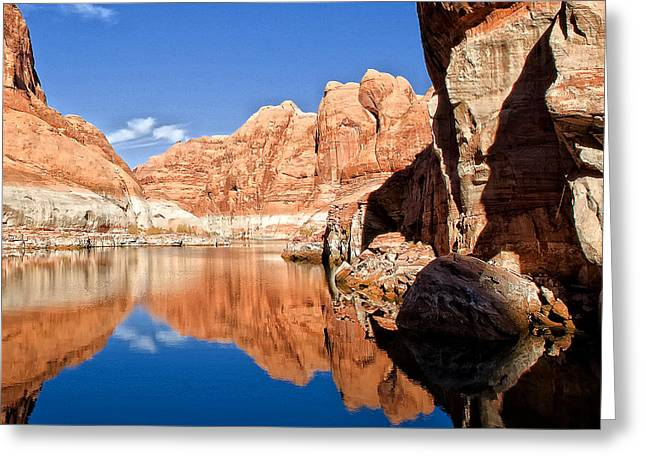Lake Powell Greeting Card by Wade Aiken
