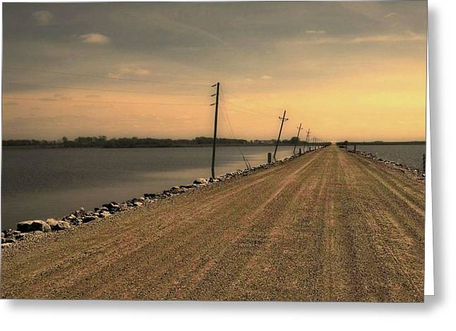 Lake Road Greeting Card