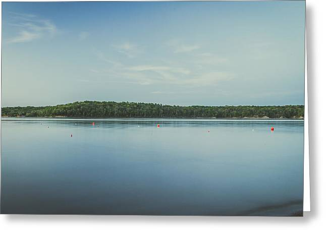 Lake Scene Greeting Card by Scott Meyer