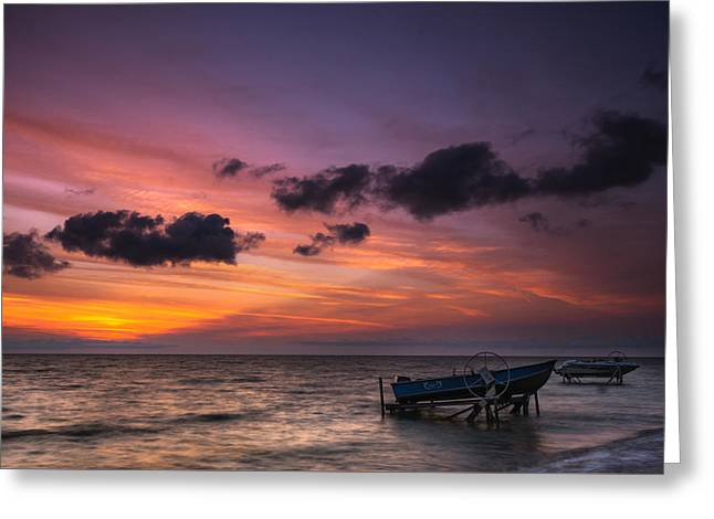 Lake St. Clair Sunrise Greeting Card by Cale Best