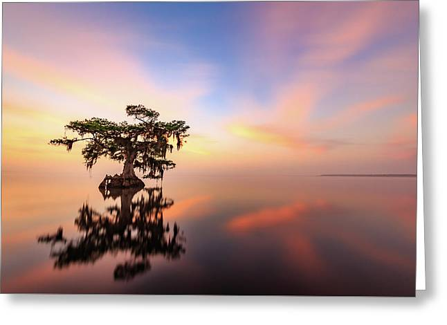 Lake Sunrise Greeting Card