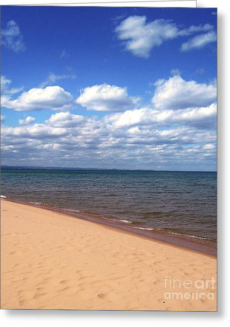 Lake Superior In Summer Greeting Card