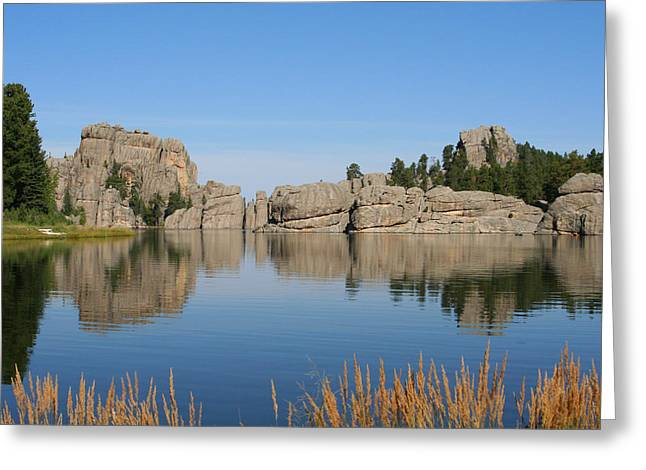 Lake Sylvan Greeting Card