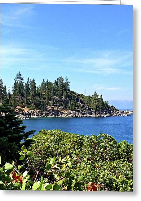 Lake Tahoe No. 17 Greeting Card by Sandy Taylor