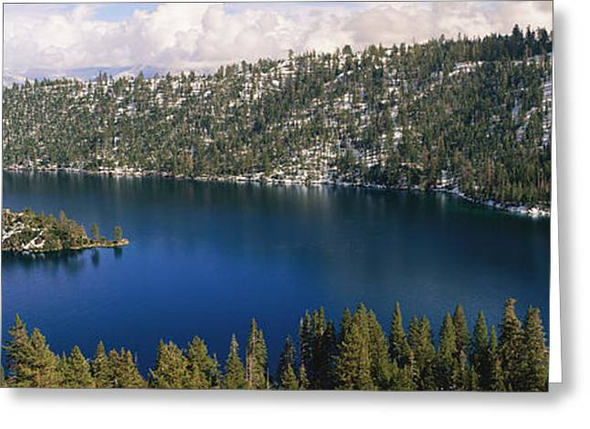 Lake Tahoe, California Greeting Card by Panoramic Images