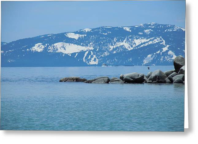 Greeting Card featuring the photograph Lake Tahoe by Dan Whittemore