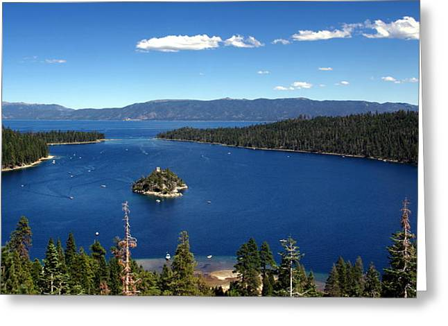 Lake Tahoe Emerald Bay Greeting Card