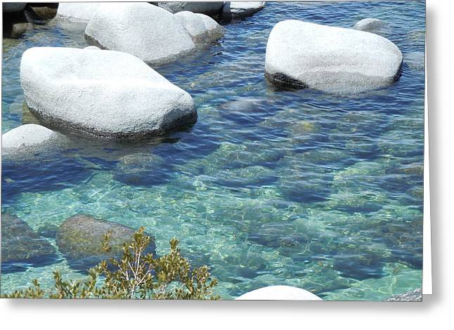 Lake Tahoe In May Greeting Card