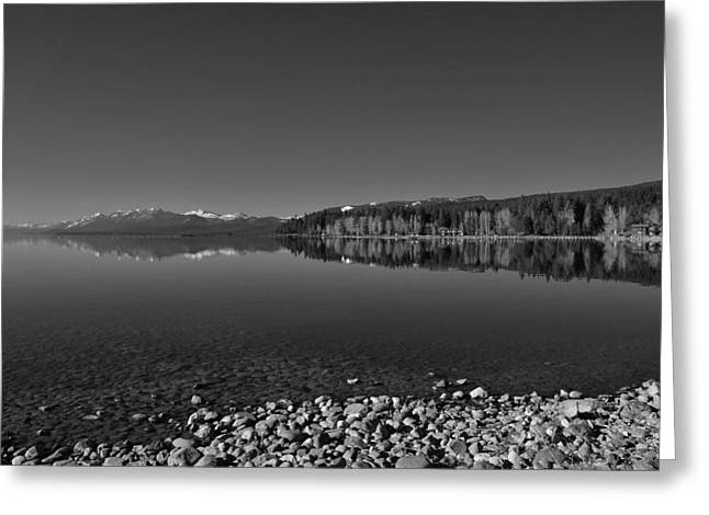Lake Tahoe Reflections Greeting Card