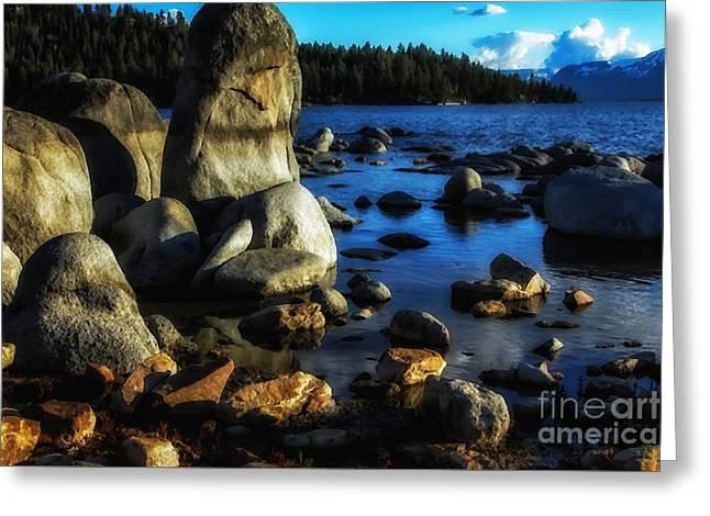 Lake Tahoe  Greeting Card by Thomas R Fletcher