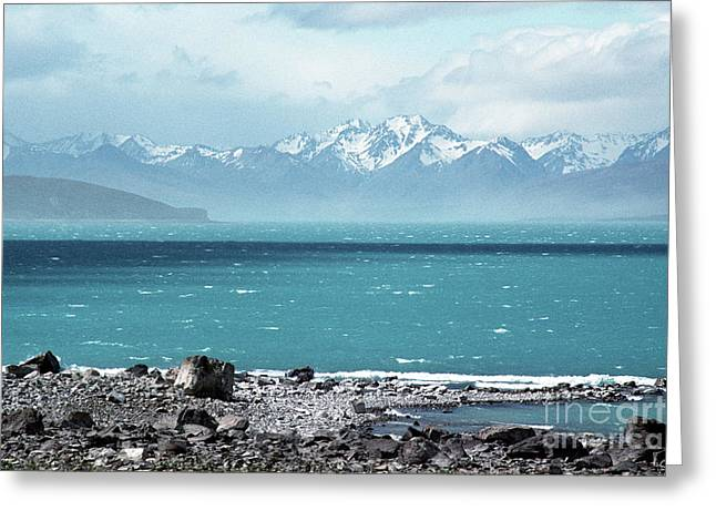Lake Tekapo 01 Greeting Card by Rick Piper Photography
