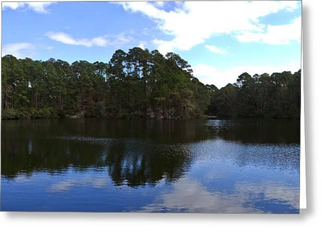 Lake Thomas Hilton Head Greeting Card