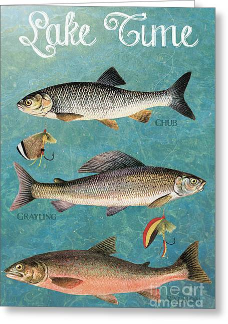 Lake Time-jp2785 Greeting Card