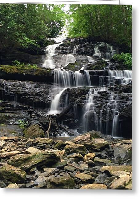 Lake Trahlyta Falls Greeting Card