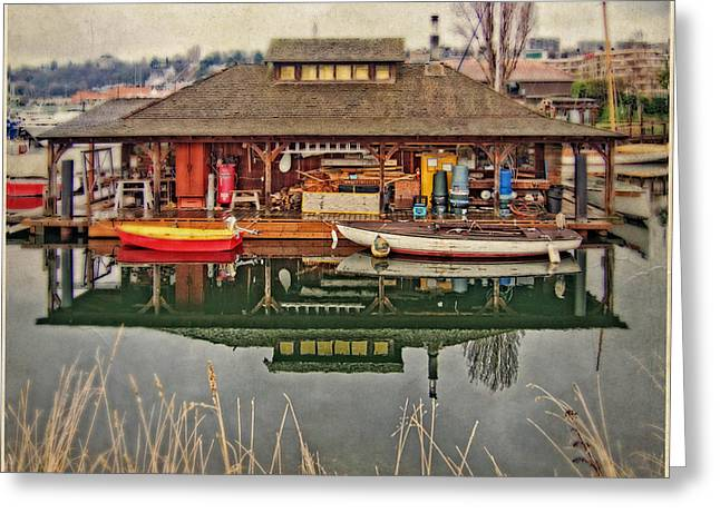 Lake Union Seattle Greeting Card