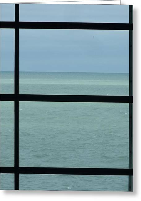 Lake View I Greeting Card by Anna Villarreal Garbis