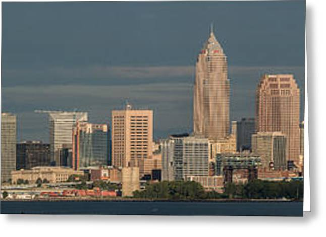 Lake View Of Cleveland  Greeting Card by Frank  Cramer