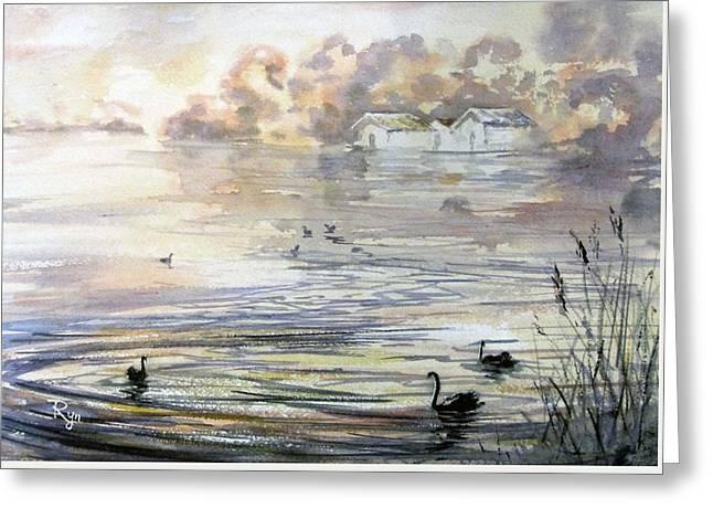 Lake Wendouree Greeting Card