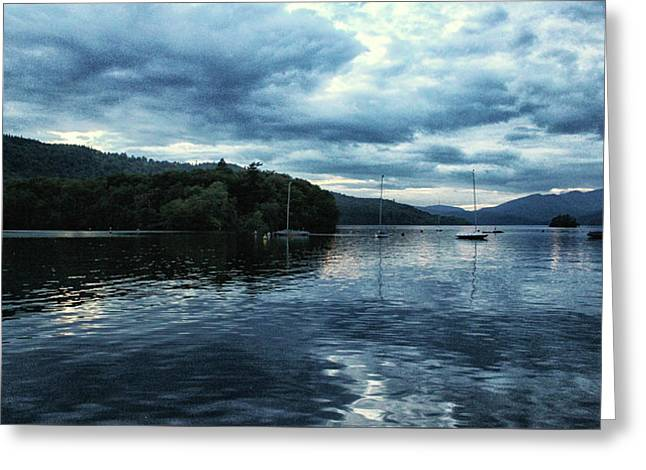 Lake Windermere Reflections Greeting Card