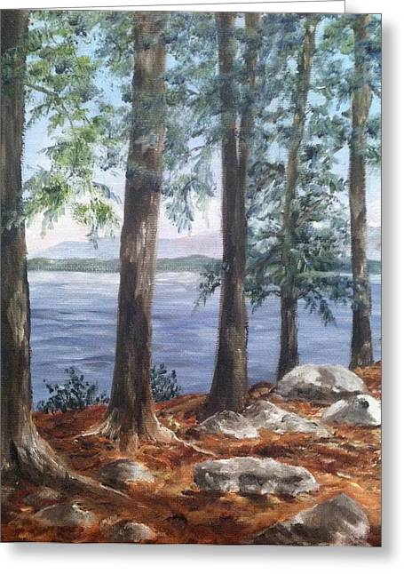 Lake Winnepesaukee Greeting Card