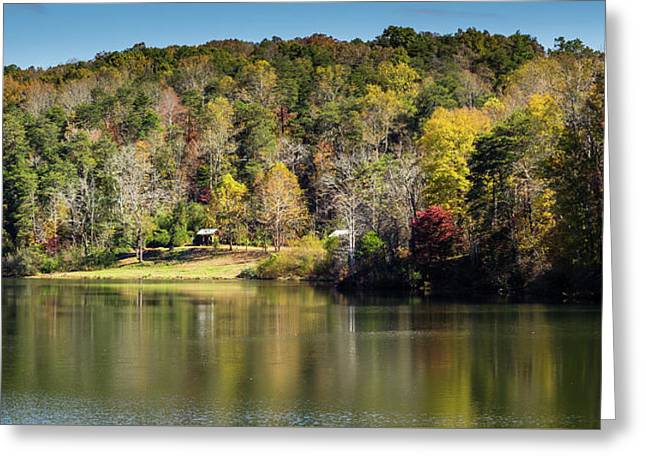 Lake Zwerner, Georgia Greeting Card