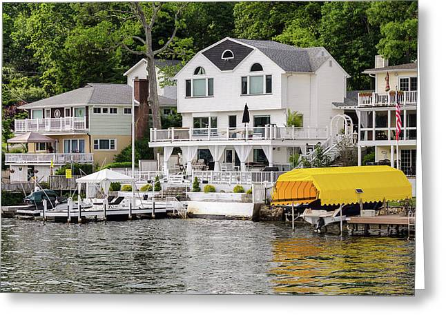 Lakefront Living Hopatcong Greeting Card