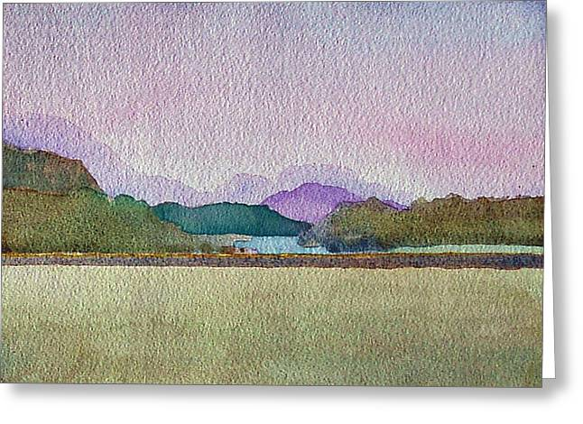 Lakes Of Killarney Greeting Card