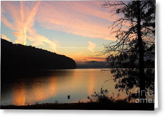 Lakeside Dreaming Greeting Card