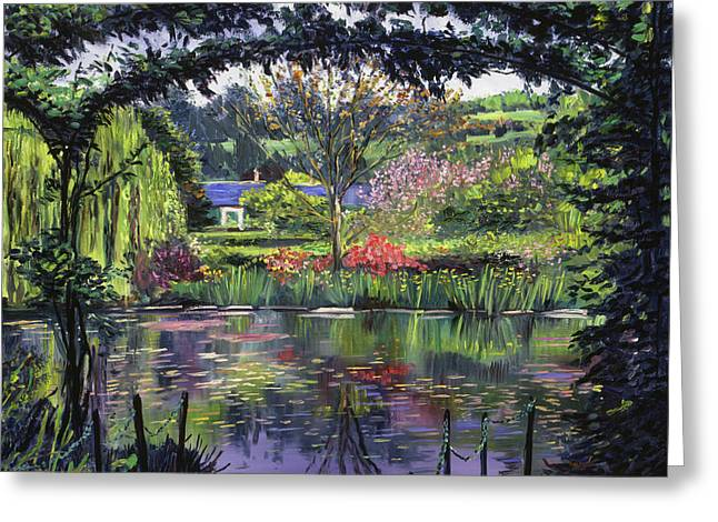Lakeside Giverny Greeting Card