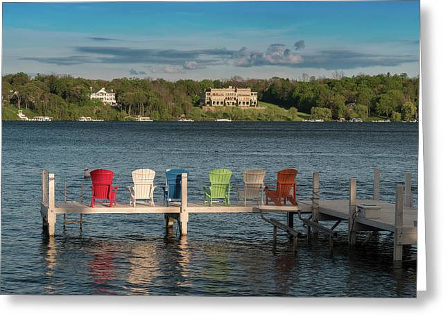 Lakeside Living Number 3 Greeting Card
