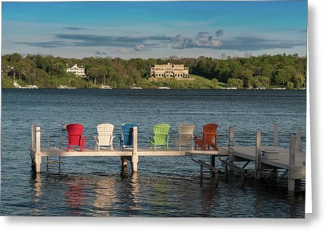 Lakeside Living Number 3 Greeting Card by Steve Gadomski