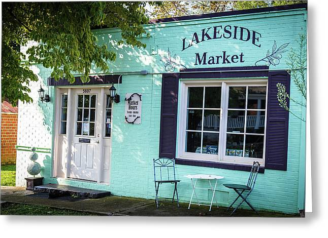 Lakeside Market Greeting Card