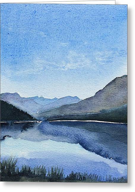 Lakeside Greeting Card by Stephanie Aarons
