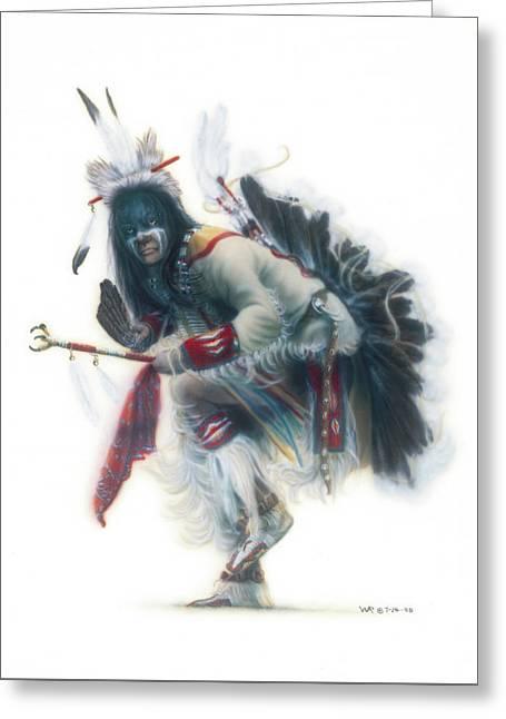 Lakota Dancer Greeting Card