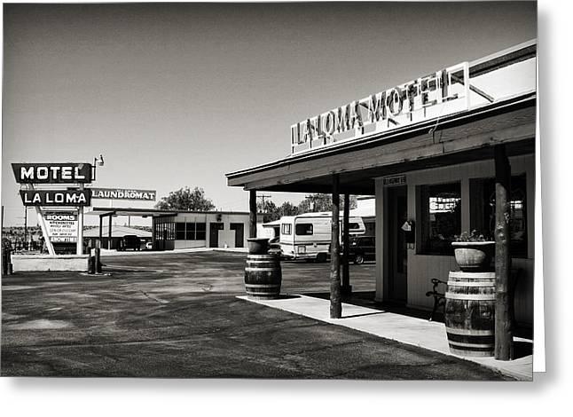 Laloma Motel Greeting Card
