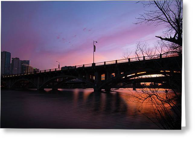 Lamar Blvd Bridge Greeting Card