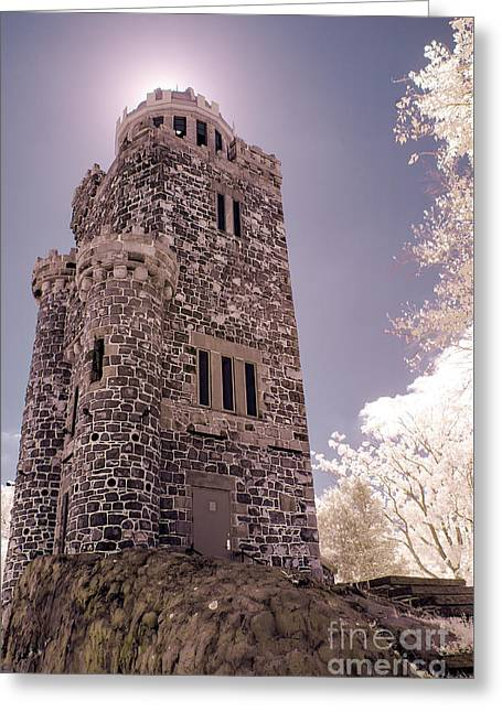Lambert Tower Greeting Card by Jeffrey Miklush