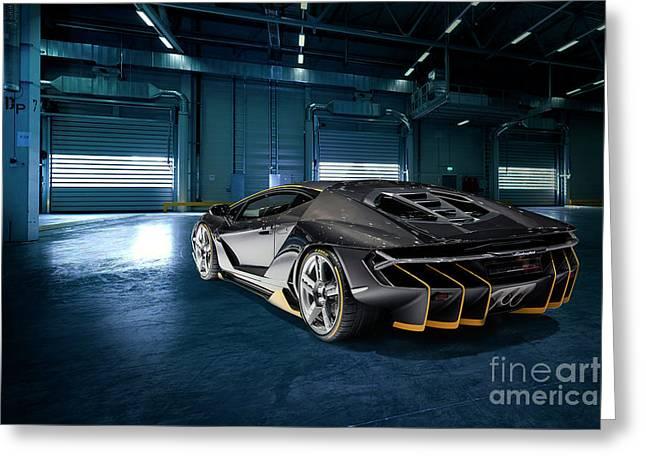 Lamborghini Centenario Lp 770-4 Greeting Card
