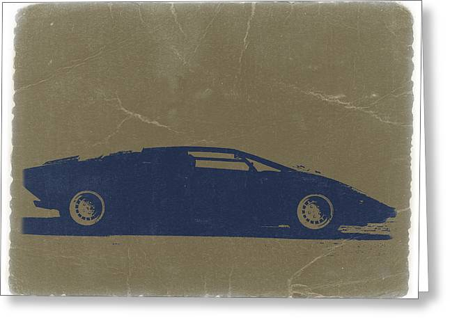 Lamborghini Countach Greeting Card