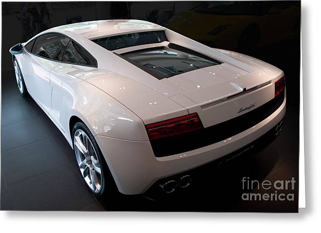 Lamborghini Gallardo Lp550-2 Greeting Card