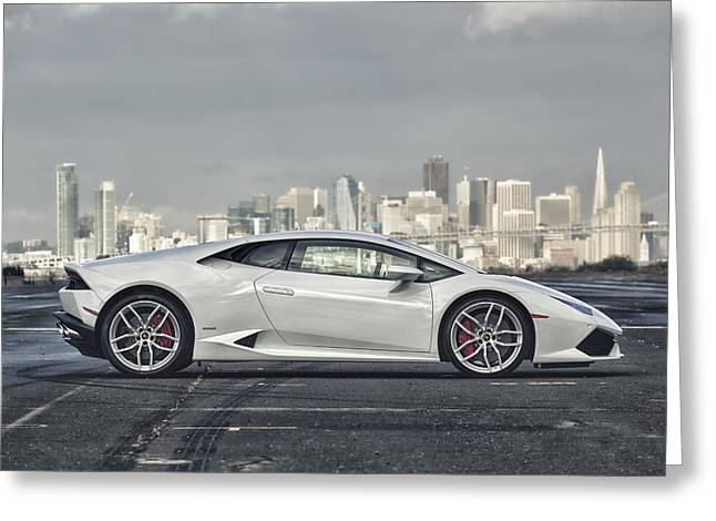 Lamborghini Huracan Greeting Card