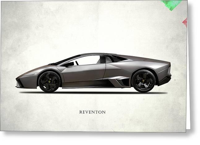 Lamborghini Reventon Greeting Card