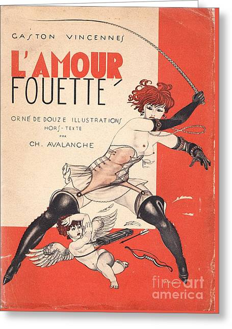 L'amour Fouette Greeting Card by Mario Laboccetta