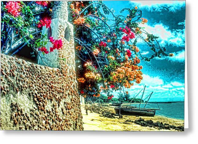 Lamu Beach Greeting Card
