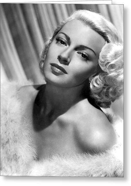 Lana Turner Greeting Card
