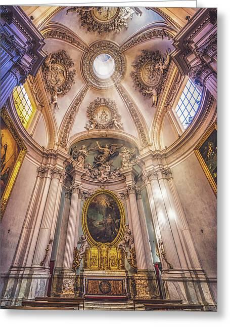 Lancelotti Chapel Greeting Card by James Billings