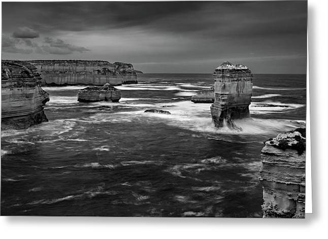 Land And Sea Greeting Card by Mark Lucey