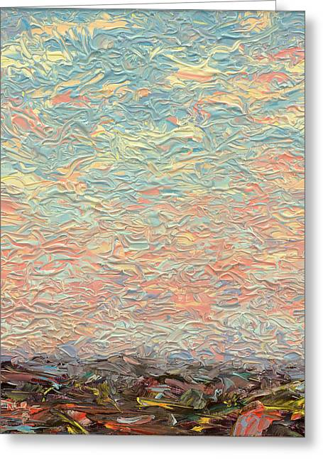 Land And Sky 3 Greeting Card