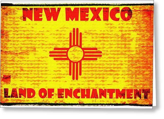 Land Of Enchantment Greeting Card by Diana Powell
